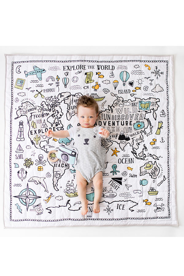 World Baby Play Mat