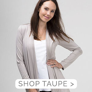 Waterfall Wrap Taupe