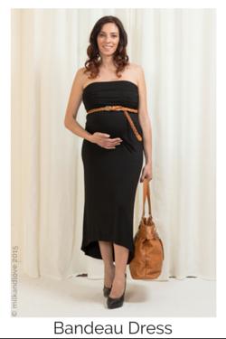 Bandeau Maternity & Breastfeeding Dress