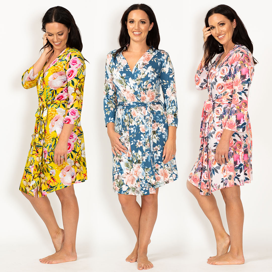 Floral Bamboo Robes