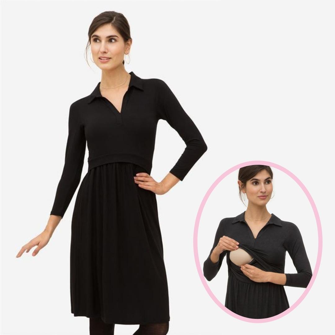 Zira Dress in Black