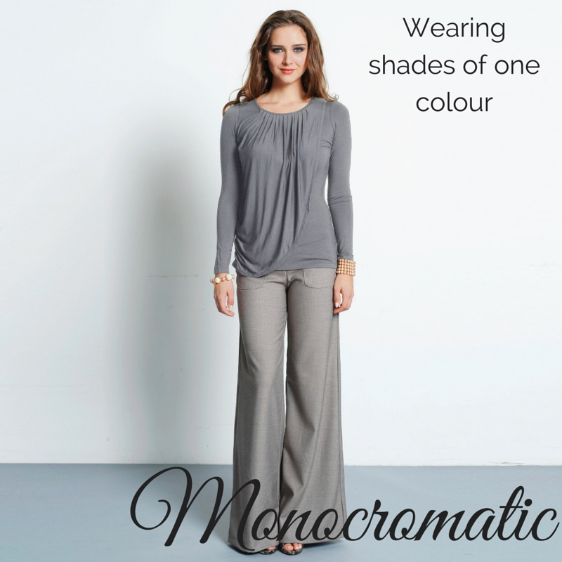 How To Wear Monocromatic
